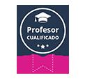 Profesor cualificado badget